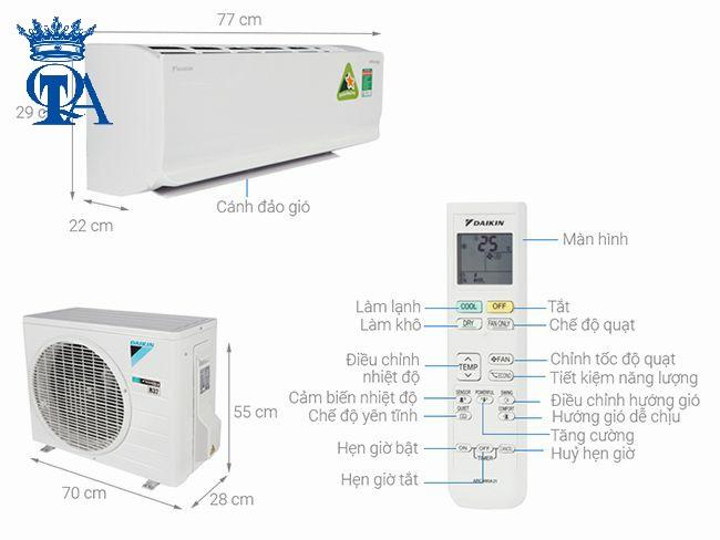 bán máy lạnh daikin quận Thủ Đức