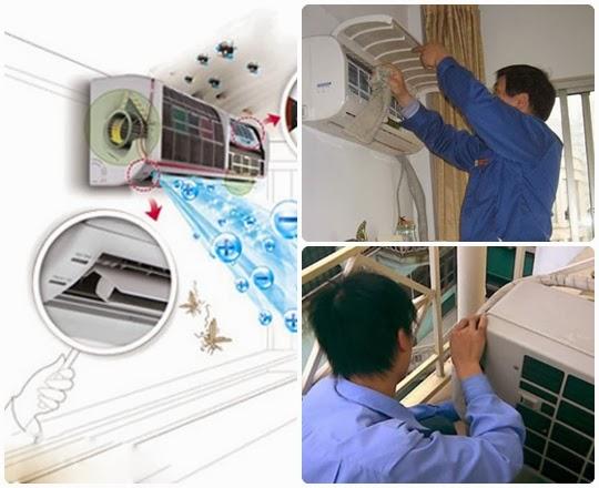 bảo trì máy lạnh mitsubishi Bình Chánh