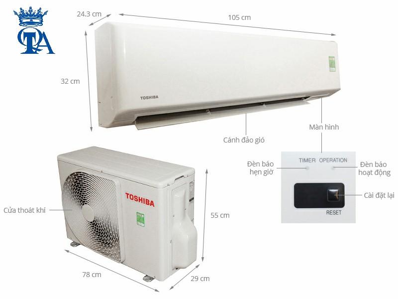 nhà cung cấp máy lạnh toshiba